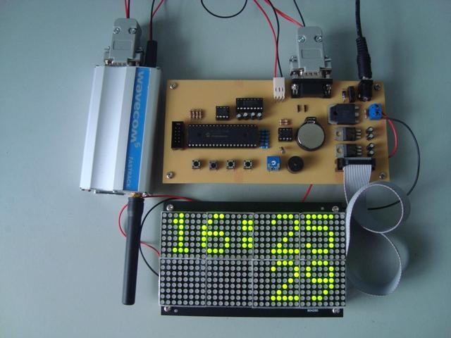 32x16 GSM Signboard