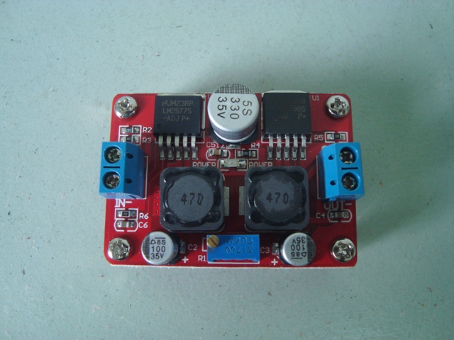 Adjustable DC-DC Converter Top