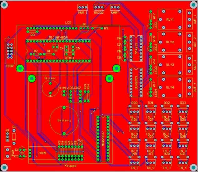 Altium Input Monitor