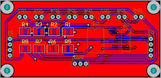 Altium Jam Solat Shift Register