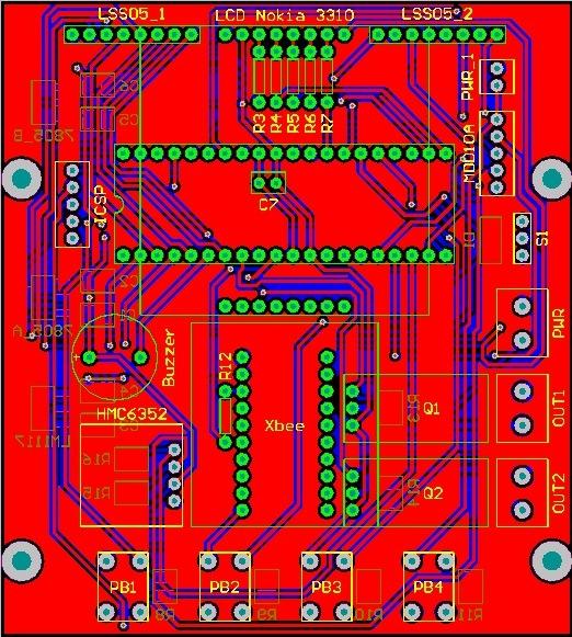 Altium Mobile Robot Controller