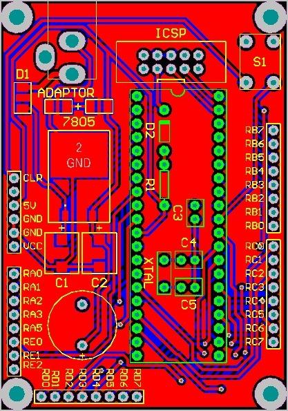 Altium PIC Development Board V2