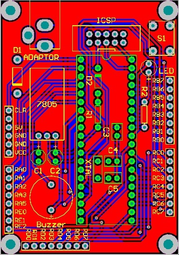 Altium PIC Development Board