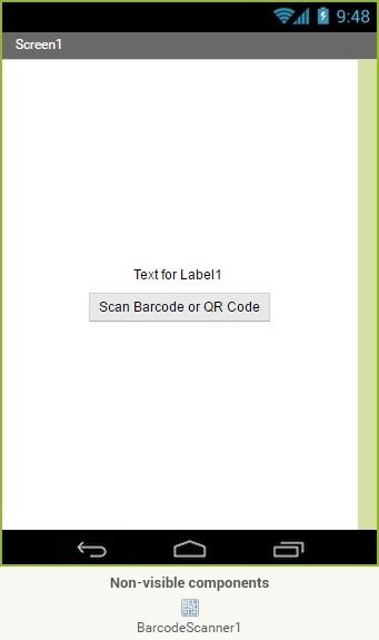 App Inventor Barcode Scanner 1