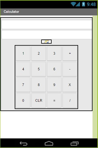App Inventor Calculator 1
