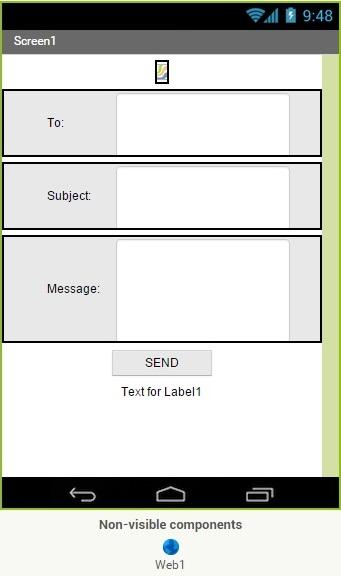 App Inventor Send Email 1