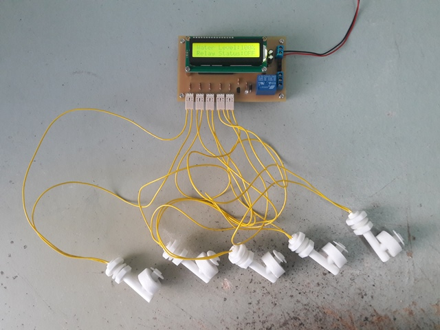 Arduino Auto Water Level