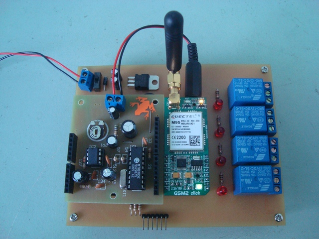 Arduino DTMF Switch