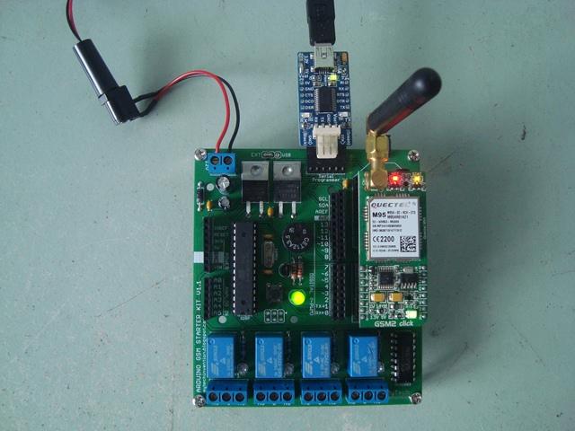 Arduino GSM2 Click