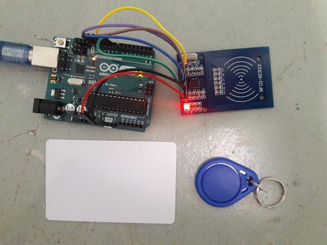 Arduino Mifare Reader RC522
