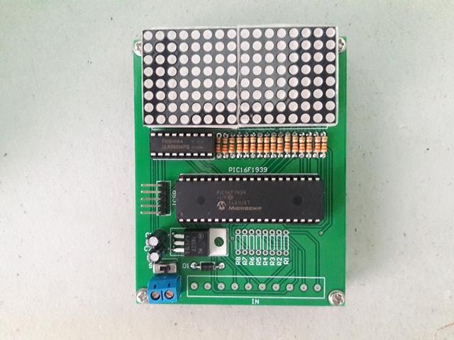 Dot Matrix Signboard (16x8) Top