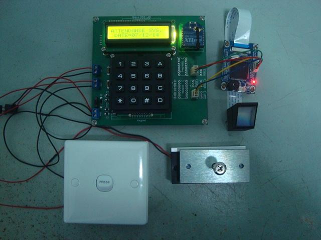 Fingerprint Attendance Access System Cytron