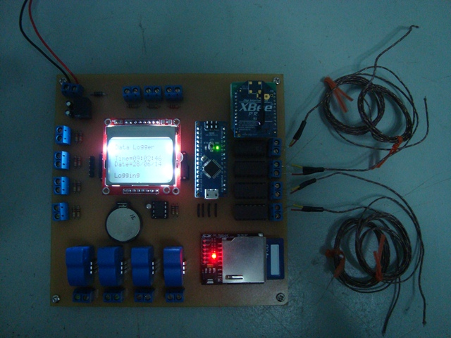 Fuel Cell Data Logger