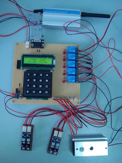 GSM Smart Home
