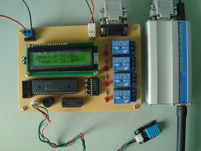 GSM Temperature Monitoring 2