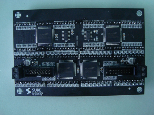 HT1632 Dot Matrix Board back 2