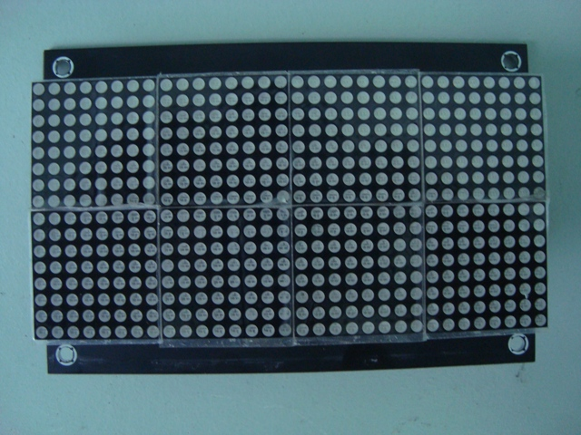 HT1632 Dot Matrix Board front 2