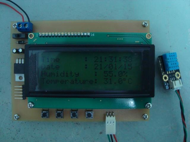 Humidity Temperature Monitoring 2