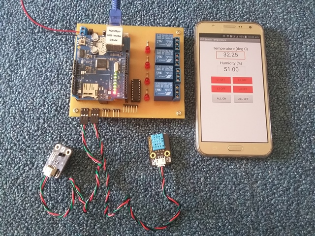 IOT Switch Temperature