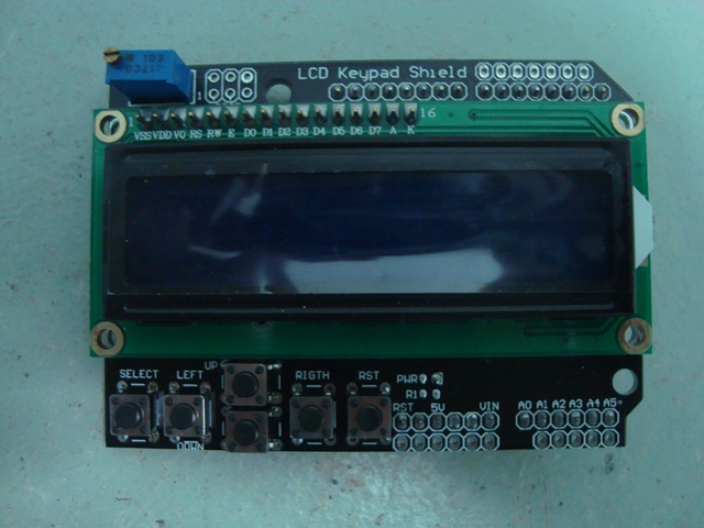 LCD Keypad Shield