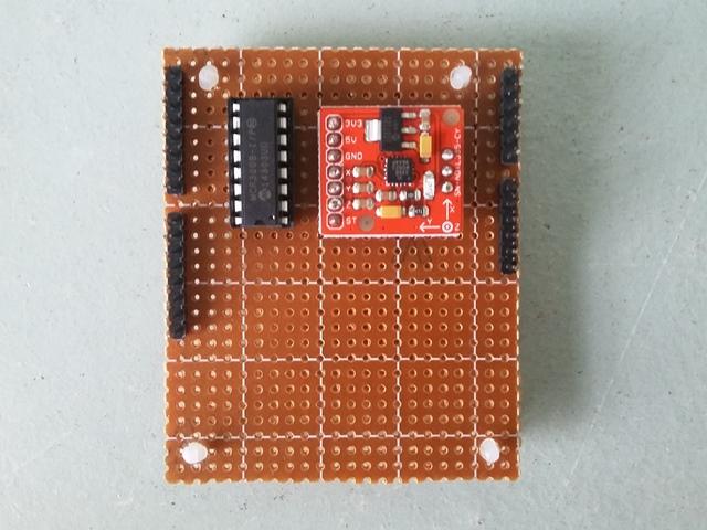 MCP3008 &  ADXL335
