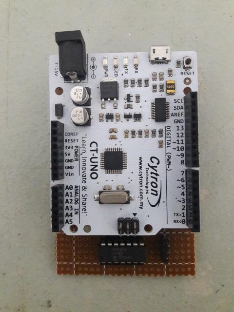 MCP4912 SPI DAC