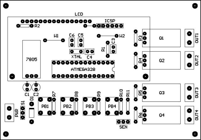 PCB Arduino Temperature Control