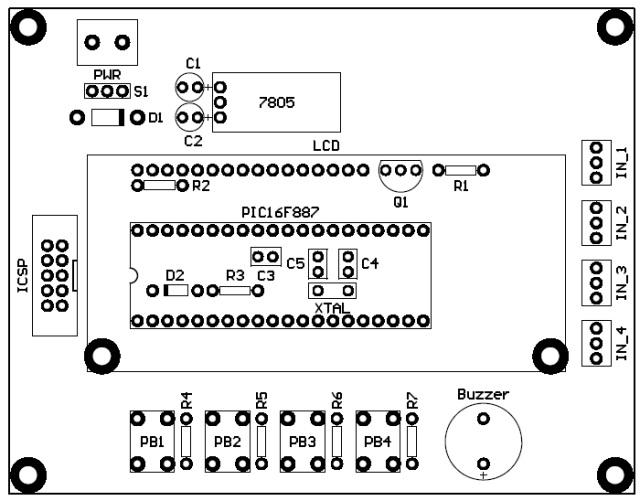 PCB Sistem Angka Giliran
