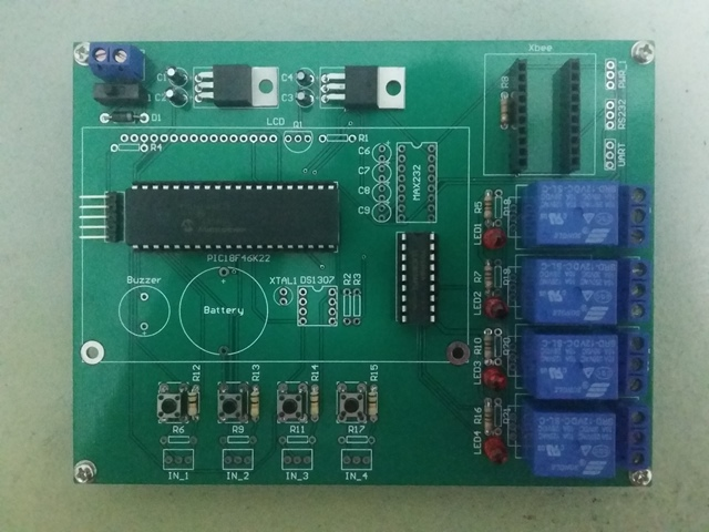 PCB Switch Control Dimmer Top