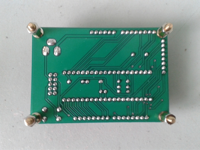 PIC Development Board V2 Bottom