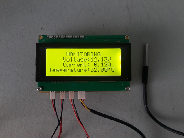 PIC Voltage Current Monitoring