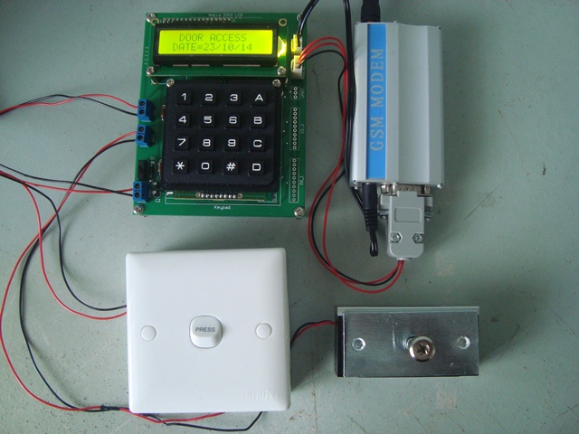 Password Door Access GSM 2