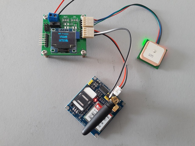 Shahrulnizam arduino project child gps tracker