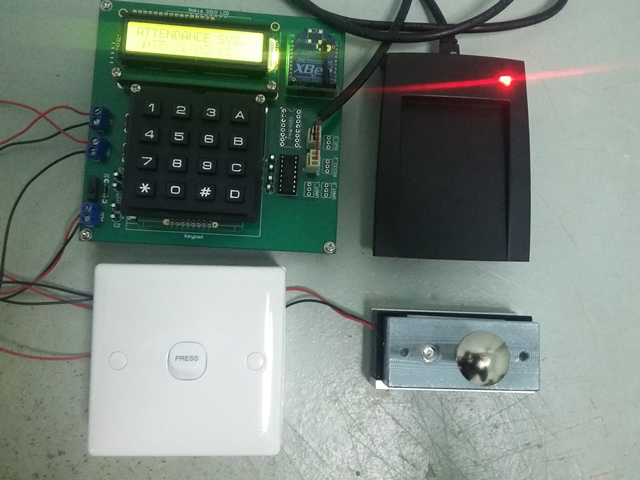RFID Attendance Access System 2 layer