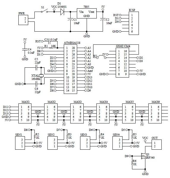 Schematic-Arduino-GSM-Flood-Alert-Signboard-48x8