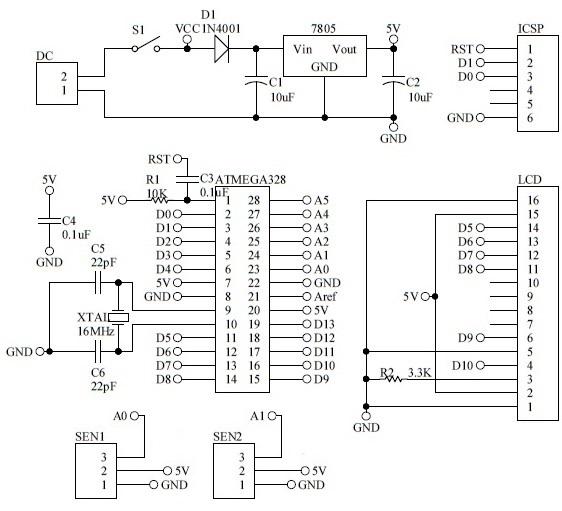 Arduino Project: Visitor / Parking Counter « Blog Kejuruteraan Dan