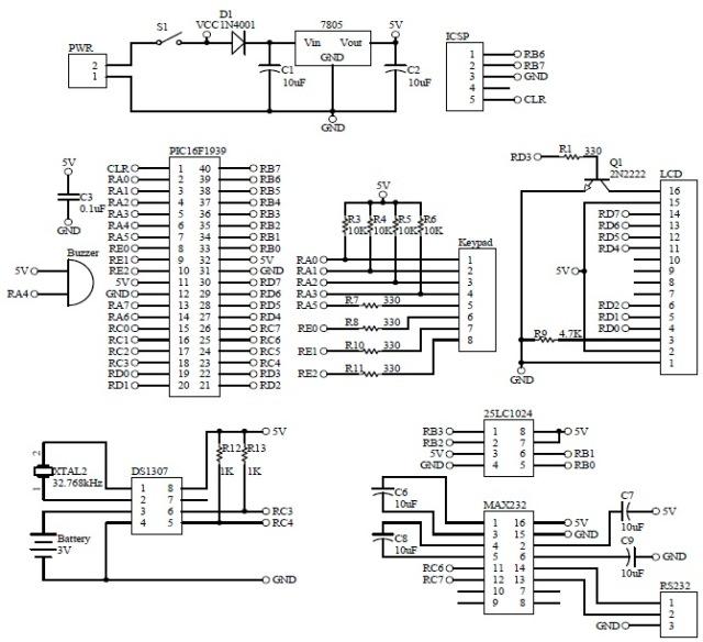 Schematic Barcode Cashier System