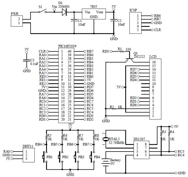 Schematic Humidity Temperature Monitoring 2