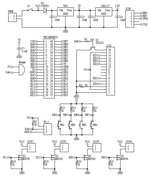Schematic Temperature Control