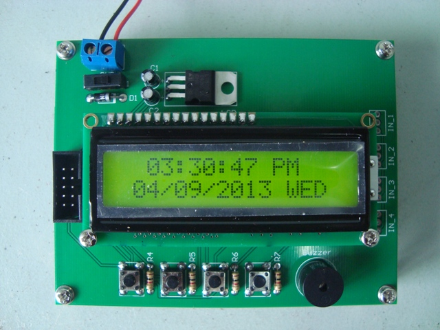 Simple Digital Clock 2