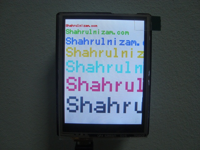 TFT LCD 2.8 inch