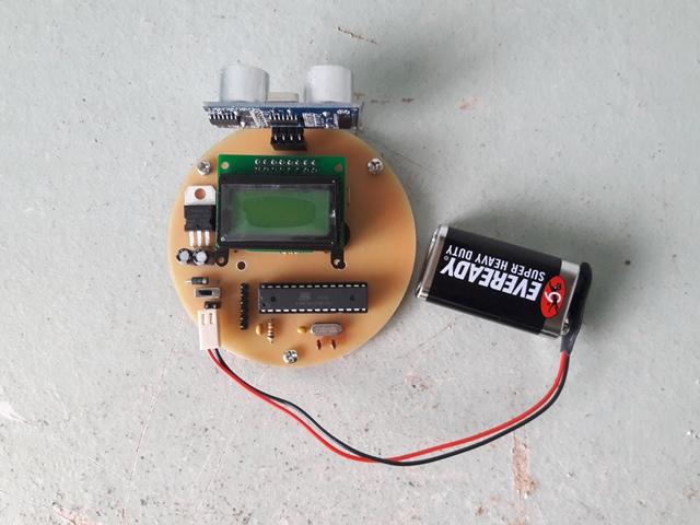 Ultrasonic Sensor for Blind