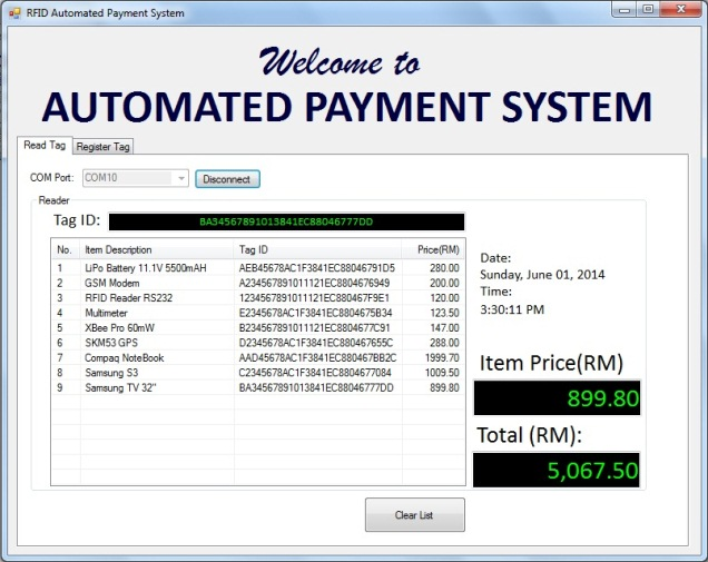 VB Automated Payment System