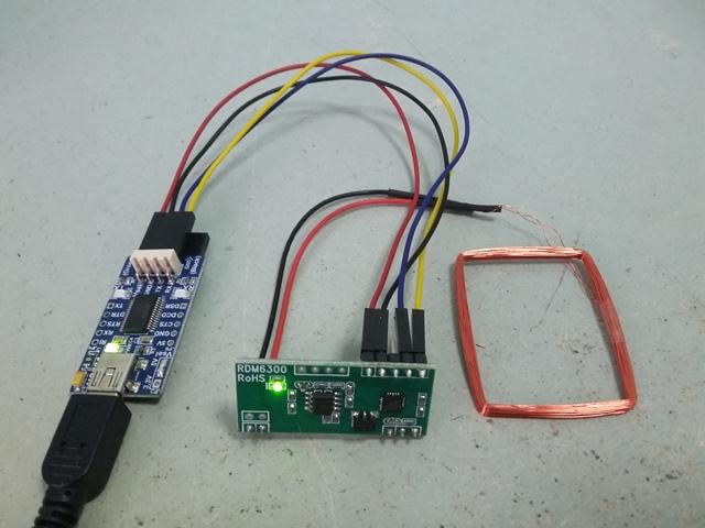 VB RDM6300 RFID