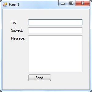 VB Send E-mail