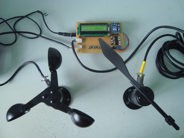 XBee Wind Monitoring